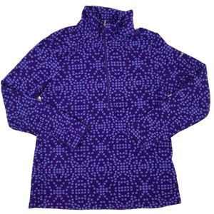 Columbia Patterned Fleece Pullover